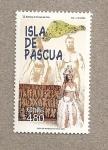 Sellos de America - Chile -  Isla de Pascua