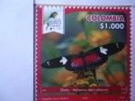 Sellos del Mundo : America : Colombia : Doris - Heliconius Doris Obscurus - Risaralda Bird Festival 2018.