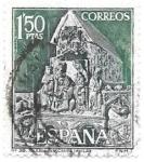 Sellos de Europa - España -  Iglesia de San Vicente