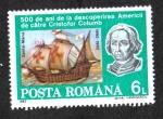 Sellos de Europa - Rumania -  Exploración de América, Santa María