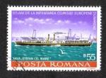 Stamps Romania -  Comisión del Danubio, Stefan cel Mare