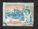 Stamps : America : Bermuda :  169 - Edificio Central de Post