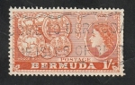 Stamps : America : Bermuda :  142 - Monedas