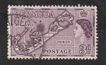 Stamps : America : Bermuda :  154 - Isla de Bermudas