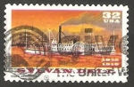 Stamps : America : United_States :  2535 - Barco a vapor Sylvan Dell