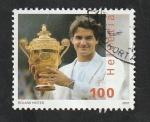 Stamps Switzerland -  1932 - Roger Federer, tenista