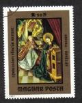 Sellos del Mundo : Europa : Hungría : Pinturas del Museo Cristiano Esztergom, Anunciación