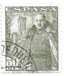 Sellos de Europa - España -  Francisco Franco