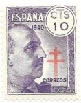 Sellos del Mundo : Europa : España :  Francisco Franco