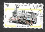 Sellos del Mundo : America : Cuba :  3796 - Locomotora (Espamer´98)