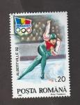 Stamps Romania -  Olimpiada invierno Albertville 92