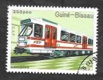 Sellos de Africa - Guinea Bissau -  798 - Locomotora
