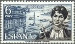 Stamps Europe - Spain -  1867 - Personajes españoles - Rosalia de Castro (1837-1885)