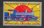 Sellos del Mundo : Africa : Guinea_Ecuatorial :  Yt30B - Centenario de los Ferrocariles Japoneses
