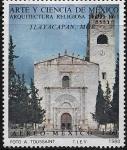 Sellos del Mundo : America : México : Convento de Tlayacapan, Morelos