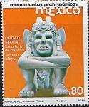 Sellos del Mundo : America : México : Deidad sedente