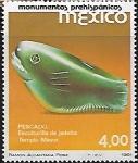 Sellos del Mundo : America : México : Pescado de jadeíta