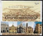 Sellos de America - México -  Consejo Consultivo al rescate del Centro Histórico de Cd Mx