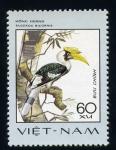Stamps Vietnam -  buceros bicornis