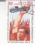 Stamps Cuba -  XV Aniversario victoria de Girón