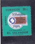 Sellos del Mundo : America : El_Salvador :  XV Conferencia FIDES