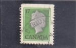 Sellos del Mundo : America : Canadá :  Isabel II