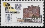 Sellos del Mundo : America : México : Biblioteca Central de Ciudad Universitaria Cd Mx