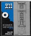Sellos del Mundo : America : México : Vista frontal del Palacio Postal, Cd Mx