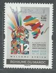 Sellos de Africa - Marruecos -  Juegos Africanos RABAT  2019