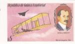 Sellos del Mundo : Africa : Guinea_Ecuatorial :  Orville wright- aviador