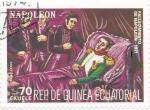 Sellos del Mundo : Asia : Guinea_Ecuatorial : fallecimiento de Napoleón