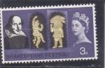 Sellos de Europa - Reino Unido -  Shakespeare festival