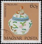 Stamps : Europe : Hungary :  Porcelana Herendi