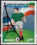 Stamps : America : Mexico :  Mundial de Fútbol Francia 1998