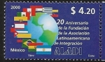 Stamps : America : Mexico :  20 años de la ALADI