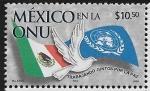 Stamps : America : Mexico :  México en la ONU