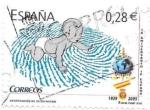 Sellos de Europa - España -  identificación del recién nacido
