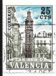 Sellos de Europa - España -  Torre de Santa Catalina