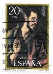 Sellos de Europa - España -  Santo Tomás (El Greco)