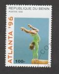 Sellos de Africa - Benin -  Atlanta 96,gimnasia