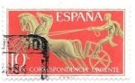 Sellos de Europa - España -  correo urgente