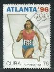 Stamps Cuba -  JJ.OO Atlanta  96