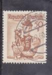 Stamps : Europe : Austria :  traje regional-