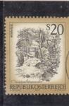 Sellos de Europa - Austria -   Cascadas de Myra, Muggendorf (Baja Austria)