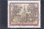 Stamps Austria -  Monasterio premonstratense, Geras