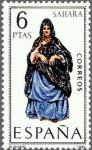 sellos de Europa - España -  1951 - Trajes típicos españoles - Sahara
