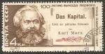 Sellos del Mundo : Europa : Rusia : 3258 - Centº del libro El Capital, de Karl Marx