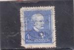 Stamps Hungary -  Ignaz Semmelweis- medico
