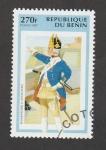 Stamps Benin -  bombardero de infantería