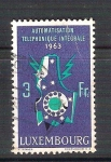 Stamps : Europe : Luxembourg :  automatismo telefonico RESERVADO